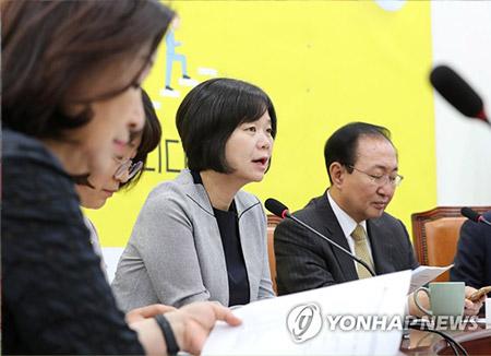 正義党 支持率で自由韓国党に追いつく