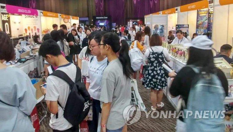 去年の化粧品の貿易黒字 初の4兆ウォン突破