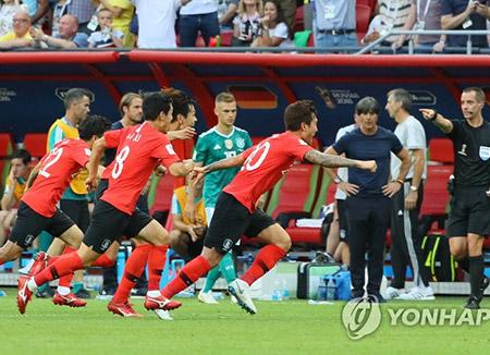 韓国、W杯でドイツに勝つも予選落ち