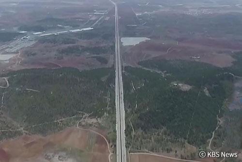 元山-咸興高速道路 中国企業が建設か