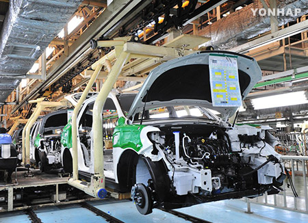 S. Korea's Industrial Output Plunges in February
