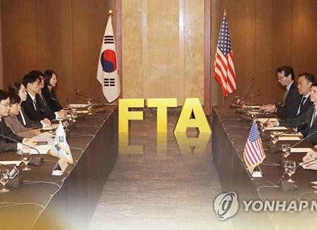 韓米FTAの見直し交渉 来月署名の予定