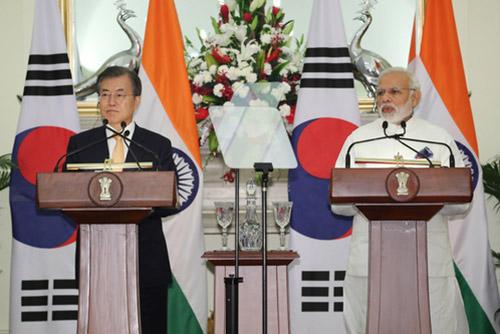 Präsident Moon hofft auf neue Ära der strategischen Kooperation mit Indien