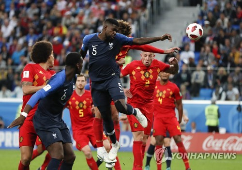 [World Cup Roundup] France Defeats Belgium to Secure a Spot in the Final