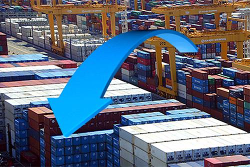 1∼10일 수출 1.9% 감소…유가상승에 수입은 19.3% 증가