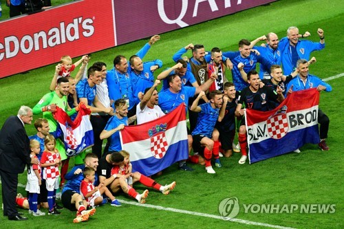 [World Cup Roundup] Croatia Defeats England 2-1 to Earn Place in Final