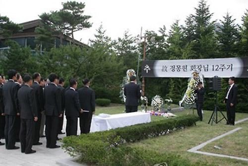 현대그룹 '정몽헌 금강산 추도식' 북한 접촉신청, 정부서 승인