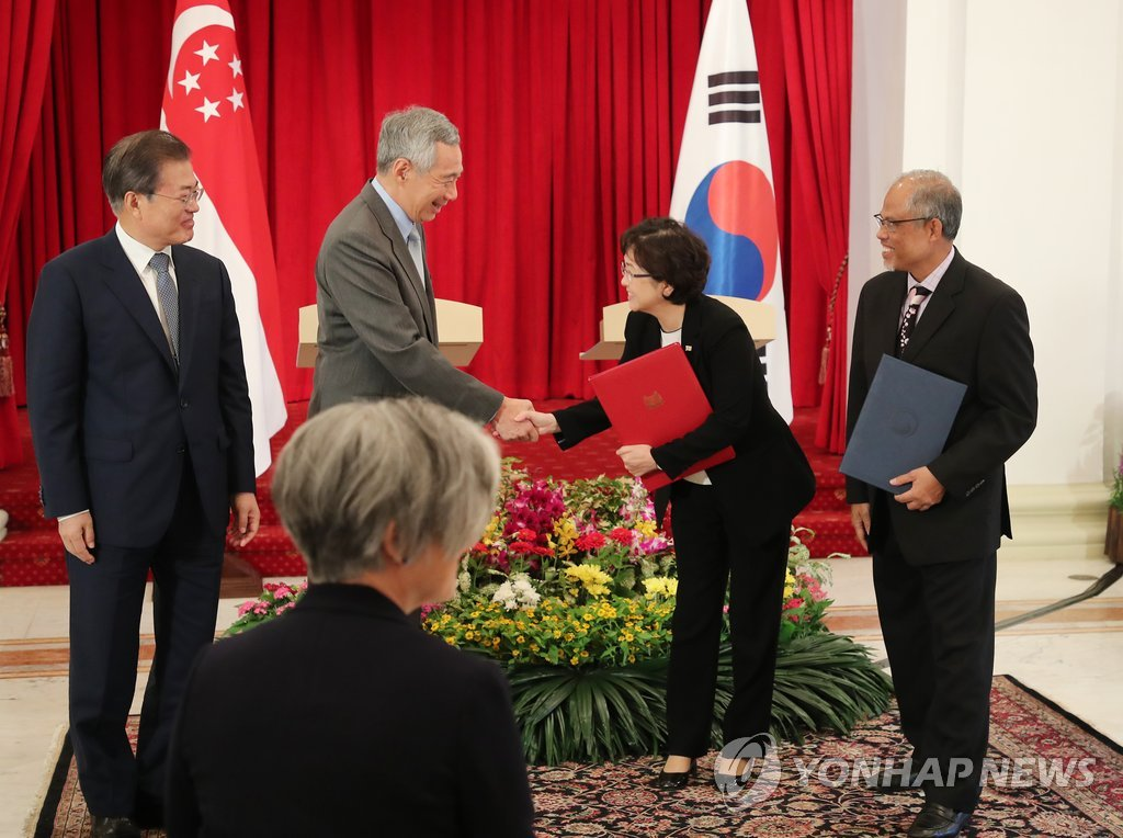 S. Korea, Singapore Agree to Strengthen Environmental Cooperation