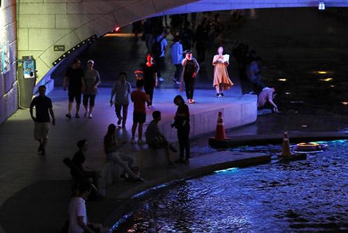 Kota Seoul Alami Kenaikan Suhu Panas di Malam Hari
