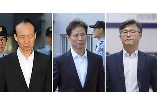 '문고리 3인방' 12일 1심 선고..특활비 뇌물 인정여부 주