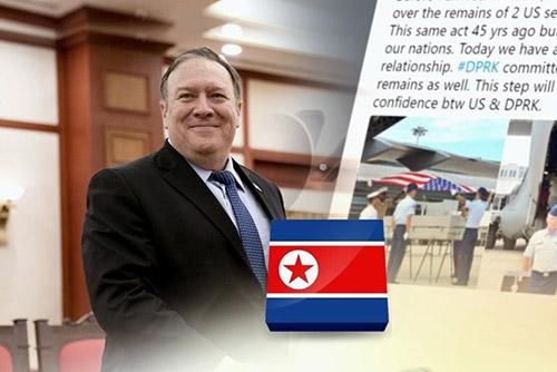 Pyongyang y Washington coordinarán la repatriación de restos