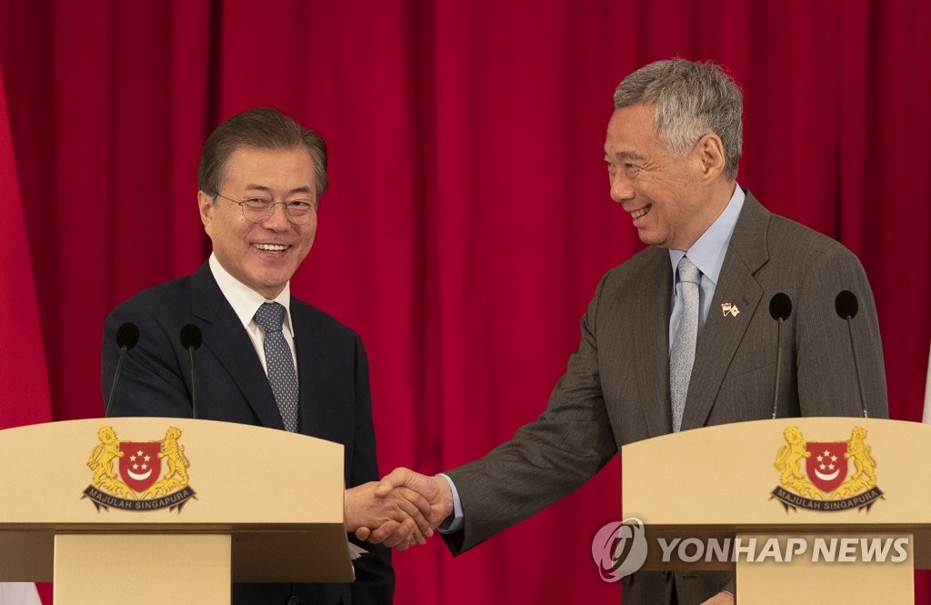 Moon: N. Korea's Criticism of US is Possibly Negotiation Strategy