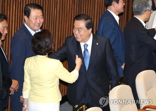 Six-term Lawmaker Moon Hee-sang Selected as National Assembly Speaker