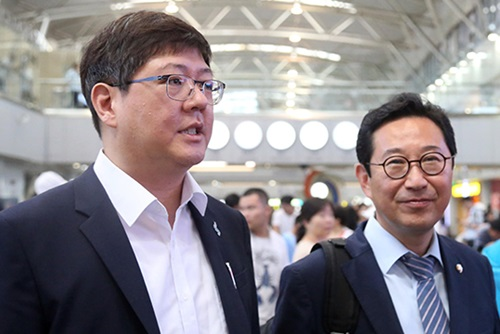 S. Korean Pro Unification Group Visits N. Korea