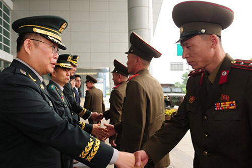 Western Inter-Korean Military Hotline Restored