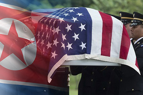 《星条旗报》:北韩或于27日归还55具美军遗骸