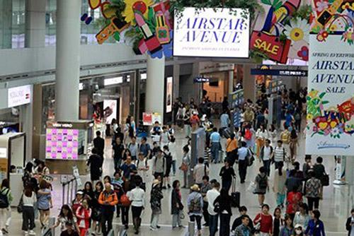 仁川空港第2ターミナルの利用者 半年で900万人突破