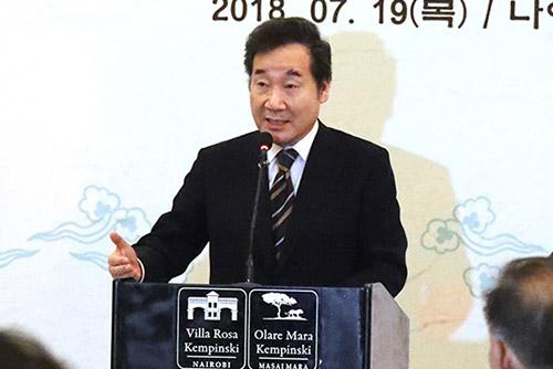 """이 총리 """"북한, 백성생활 더 중시하는 지도자 마침내 출현"""""""