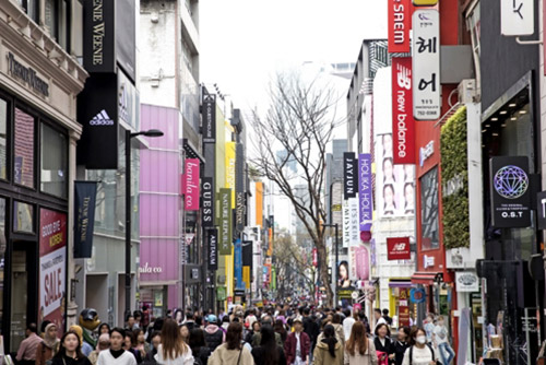 No. of Foreign Tourists to S. Korea Up 6.9% in First Half