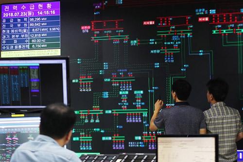 폭염에 최대전력수요 역대 최고…전력예비율 9.5%