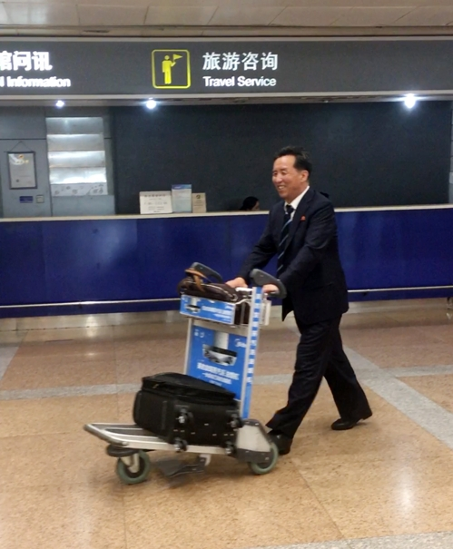 N. Korean Official in Beijing Likely to Discuss Economic Cooperation