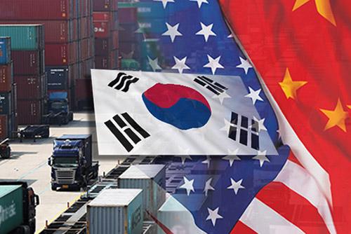 米中貿易摩擦で韓国などに打撃 米紙報道