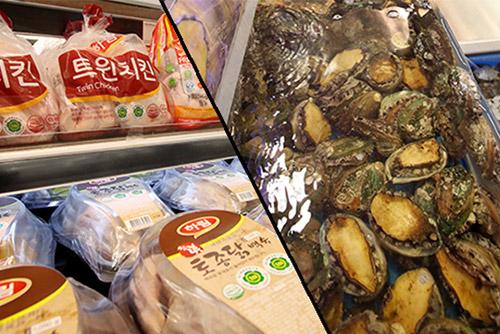 폭염에 다이어트 제품 대신 보양식 판매 상승