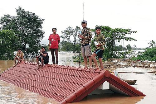 SK건설 참여 라오스서 댐 붕괴…수백 명 실종