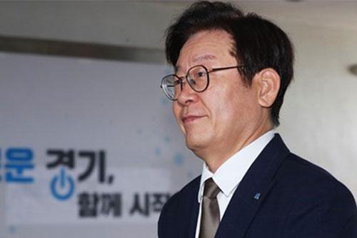 이재명지사 여배우 추문 의혹 경찰 수사 본격화