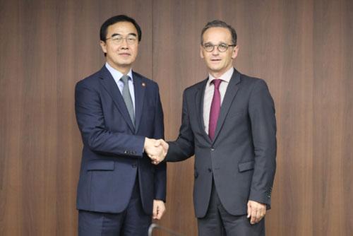 Deutscher Außenminister verspricht Unterstützung für Friedensprozess auf koreanischer Halbinsel