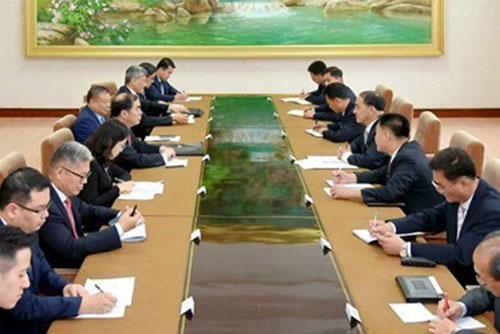 Chinas Vizeaußenminister trifft Nordkoreas Außenminister