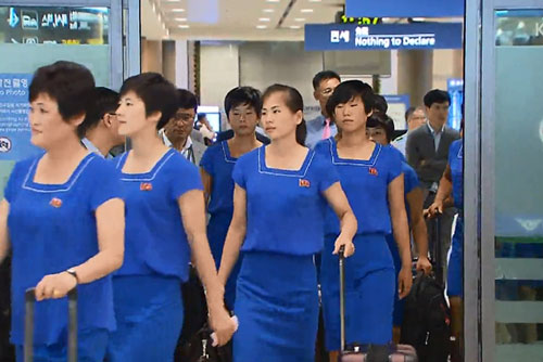 N. Korean Athletes Head to Indonesian for Asian Games