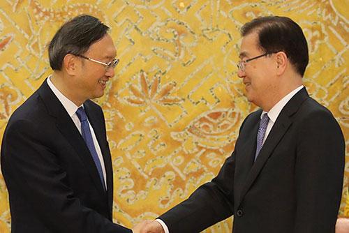 Seoul bestätigt Besuch von hochrangigem chinesischem Außenpolitiker