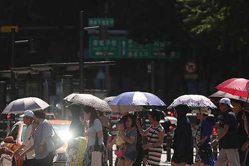 韩国极端炎热天气或将持续三天