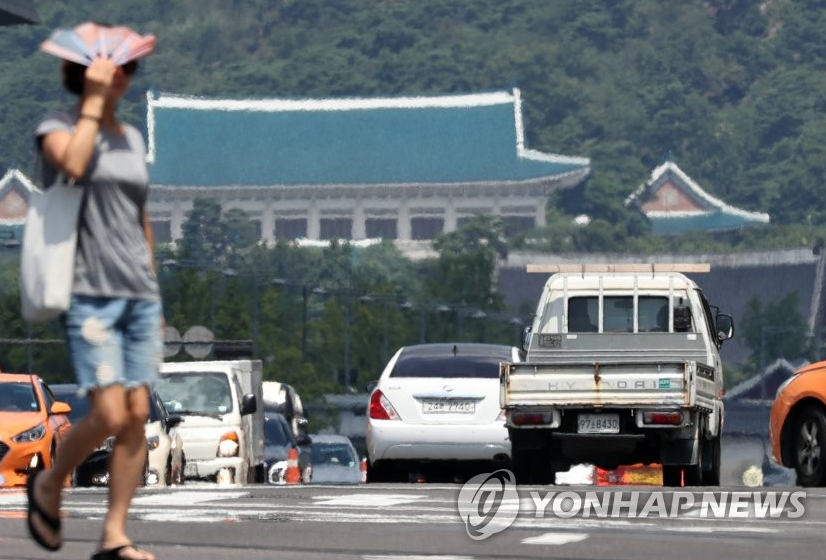 S. Korea Sees Hottest Day in History at 41 ℃