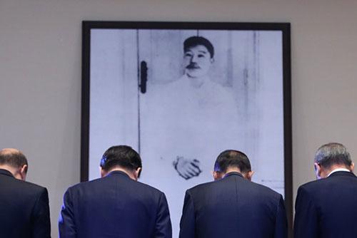 Hàn Quốc xúc tiến tìm kiếm hài cốt nghĩa sĩ Ahn Jung-geun