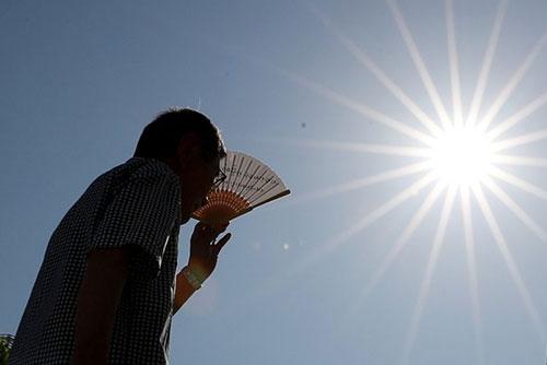 Fin de semana con temperatura máxima entre 36 y 37 grados