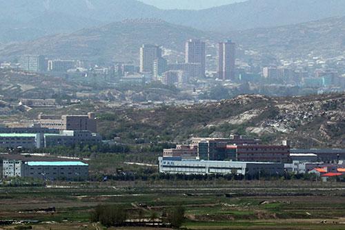 Hàn Quốc cấp điện cho Văn phòng liên lạc liên Triều ở khu công nghiệp Gaesung