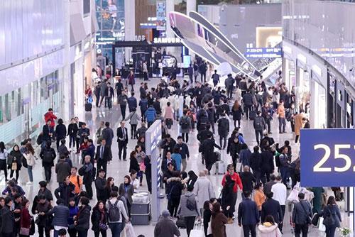 仁川空港の利用者数 夏季繁忙期過去最多