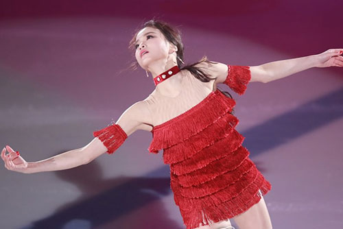 Eiskunstläuferin Lim Eun-soo siegt bei Asian Open Trophy
