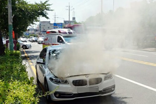 BMW 화재 올해 80건...국토부, 절반도 파악 못해