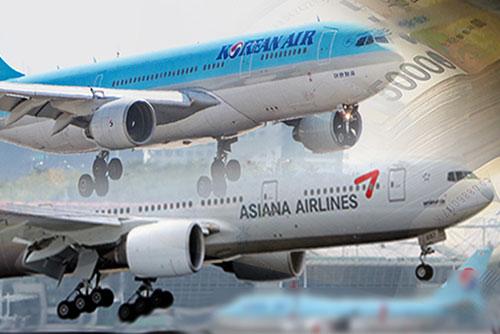 大韓航空・アシアナ航空 税制優遇から除外へ