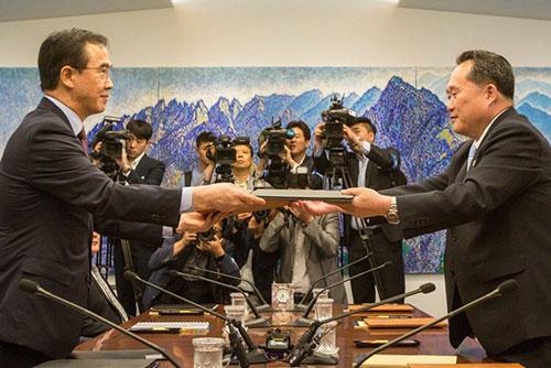 南北韩高级别会谈13日在板门店举行 商讨首脑会谈事宜