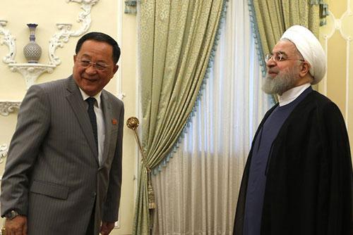 Ngoại trưởng Bắc Triều Tiên hội đàm với Tổng thống I-ran