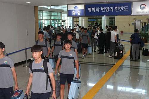 Two Koreas Send Delegations Across Border for Soccer Matches