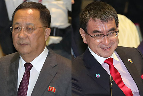 Yomiuri: Japan's Foreign Minister Seeks Talks with N. Korea's Top Diplomat at ARF in Thailand