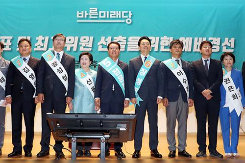 바른미래 전당대회 후보, 손학규·하태경 등 6명 압축