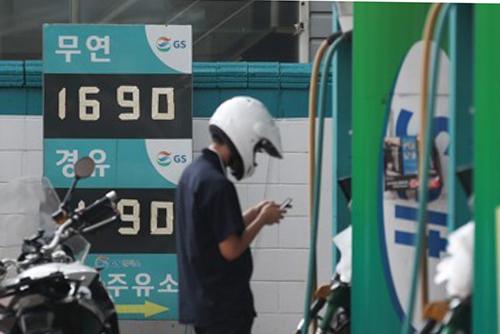 휘발유가격 6주째 상승…서울은 평균 1700원 돌파