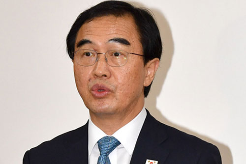 統一相  駐韓大使らに対北韓政策説明会
