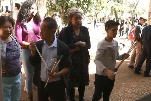 Hàn kiều tại Bra-xin lập biểu tượng kỷ niệm 55 năm nhập cư